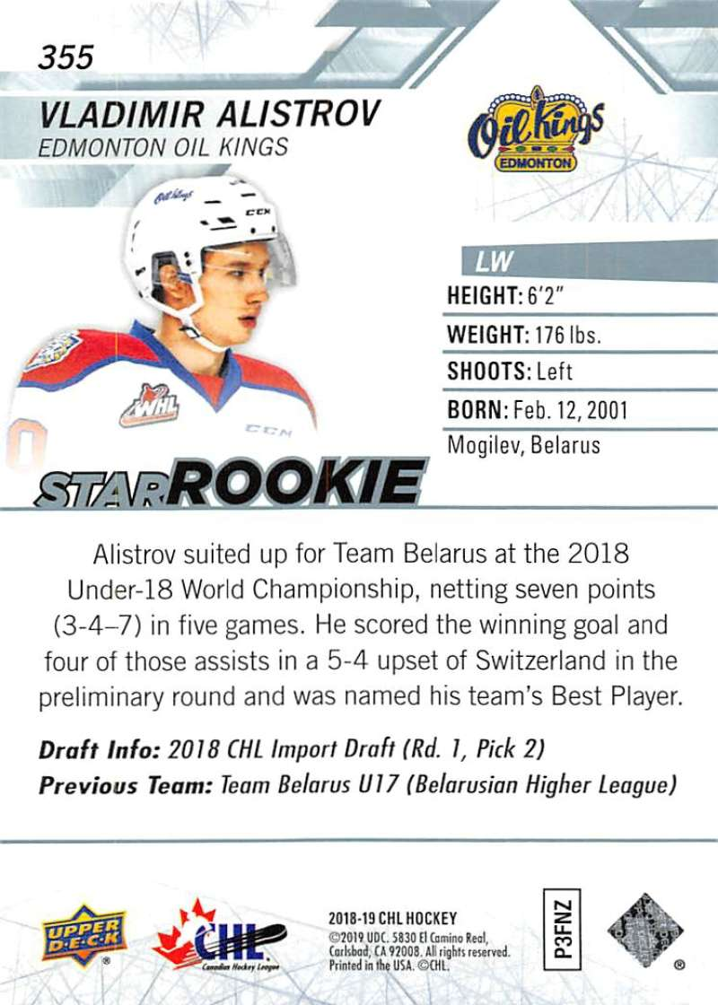 2018-19-Upper-Deck-CHL-Hockey-Cards-Pick-From-List-Base-and-Short-Prints-201-400 miniature 287