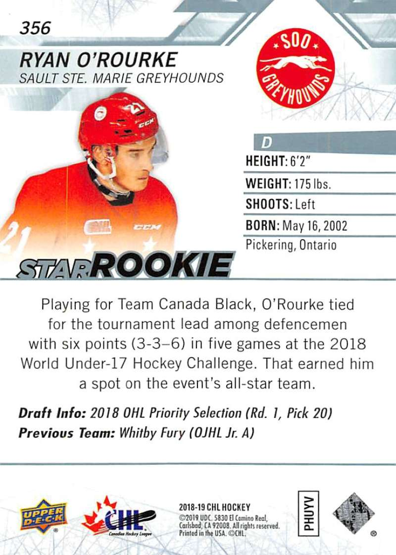 2018-19-Upper-Deck-CHL-Hockey-Cards-Pick-From-List-Base-and-Short-Prints-201-400 miniature 289