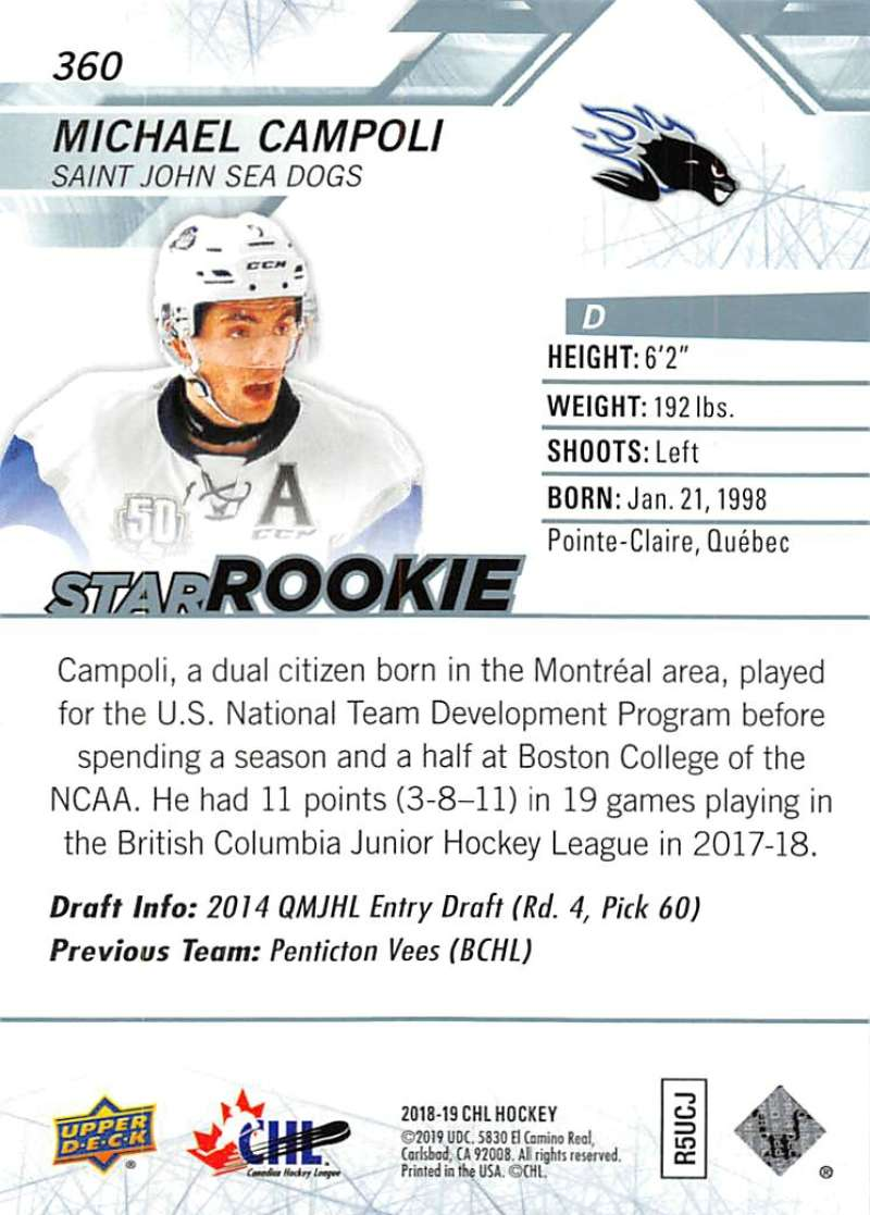 2018-19-Upper-Deck-CHL-Hockey-Cards-Pick-From-List-Base-and-Short-Prints-201-400 miniature 297