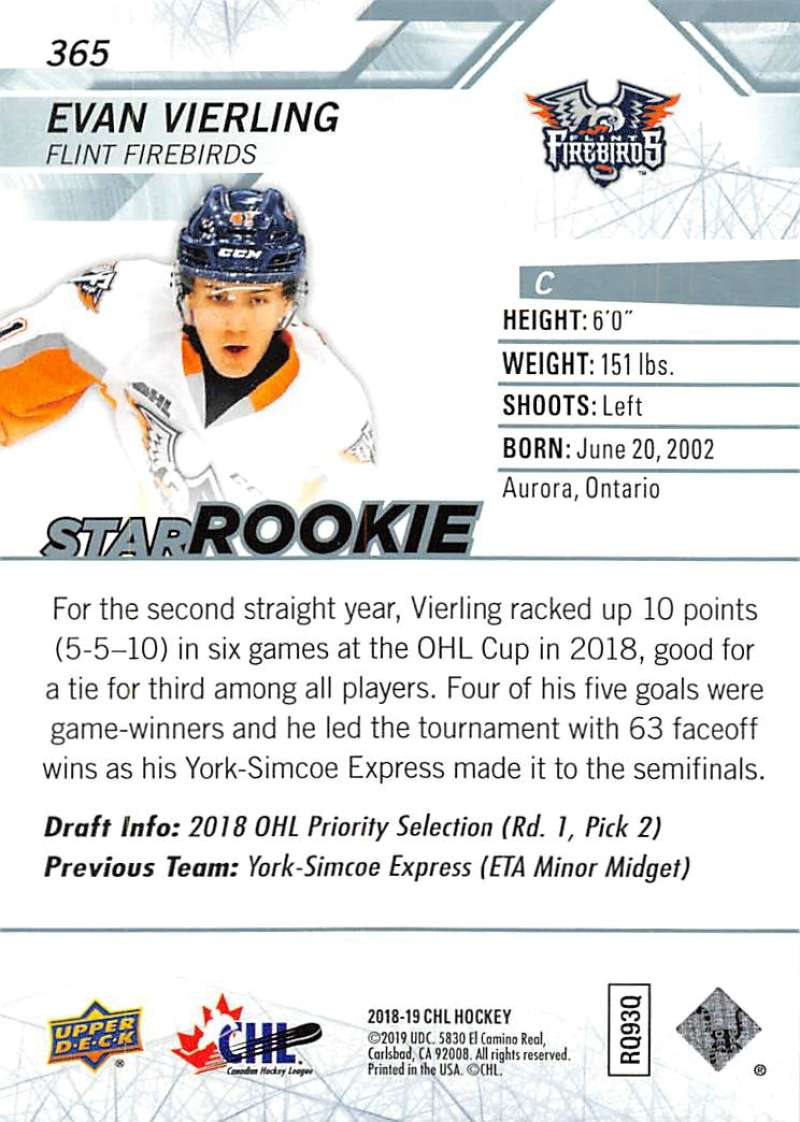2018-19-Upper-Deck-CHL-Hockey-Cards-Pick-From-List-Base-and-Short-Prints-201-400 miniature 303