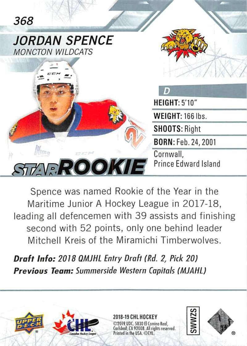2018-19-Upper-Deck-CHL-Hockey-Cards-Pick-From-List-Base-and-Short-Prints-201-400 miniature 307