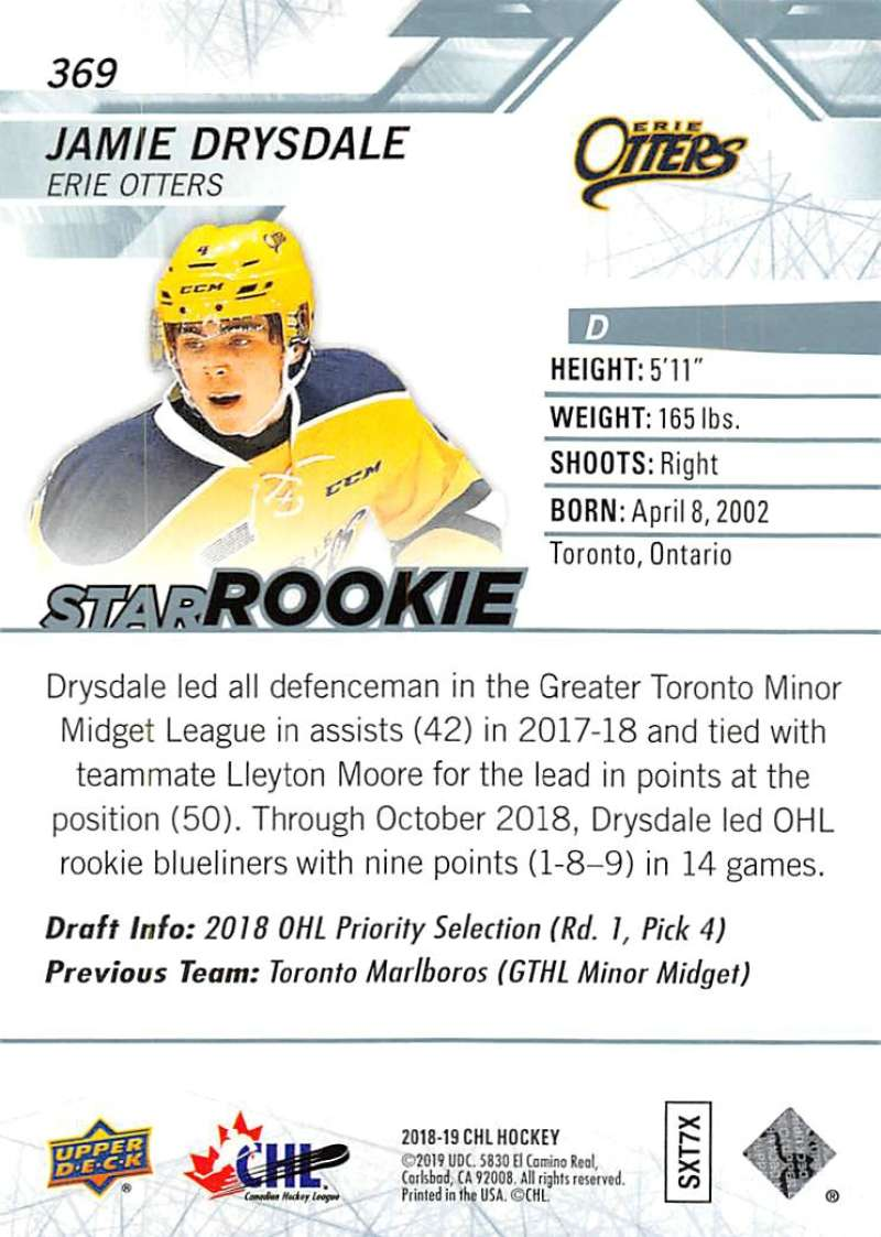 2018-19-Upper-Deck-CHL-Hockey-Cards-Pick-From-List-Base-and-Short-Prints-201-400 miniature 309