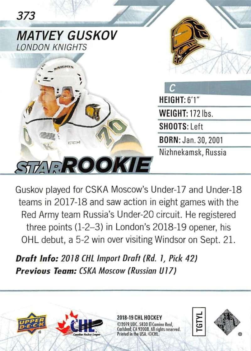 2018-19-Upper-Deck-CHL-Hockey-Cards-Pick-From-List-Base-and-Short-Prints-201-400 miniature 315