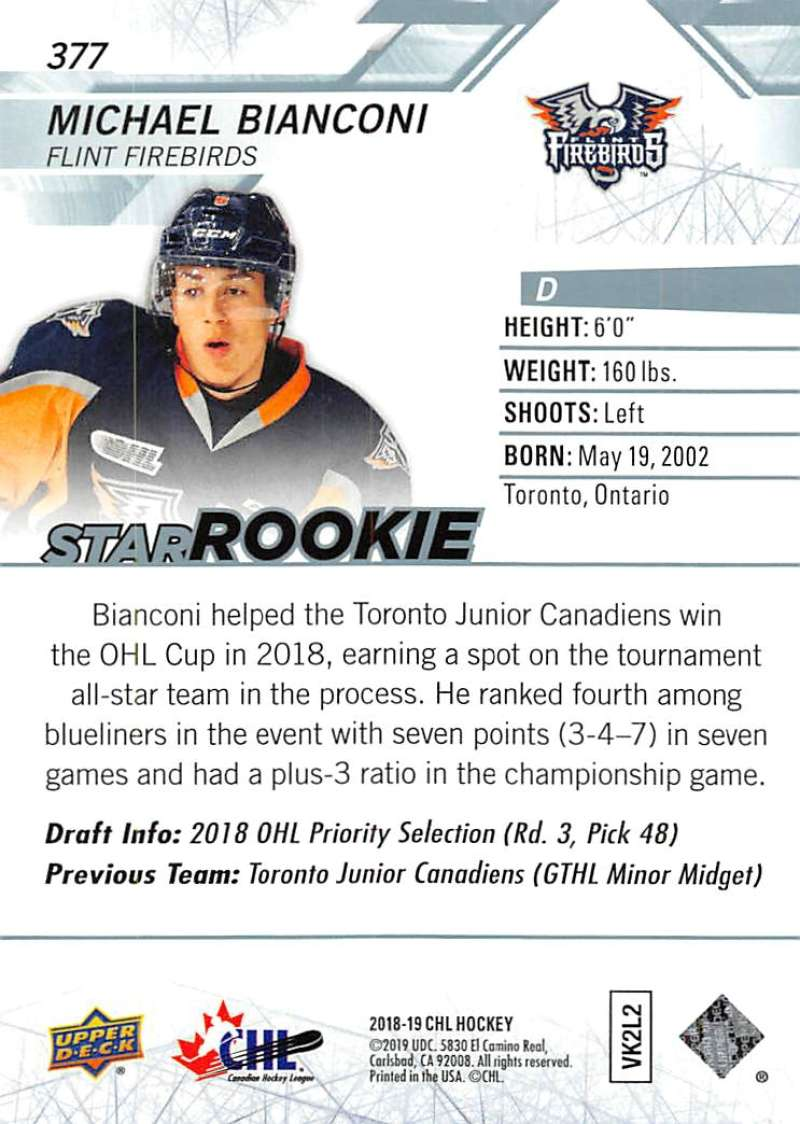 2018-19-Upper-Deck-CHL-Hockey-Cards-Pick-From-List-Base-and-Short-Prints-201-400 miniature 323