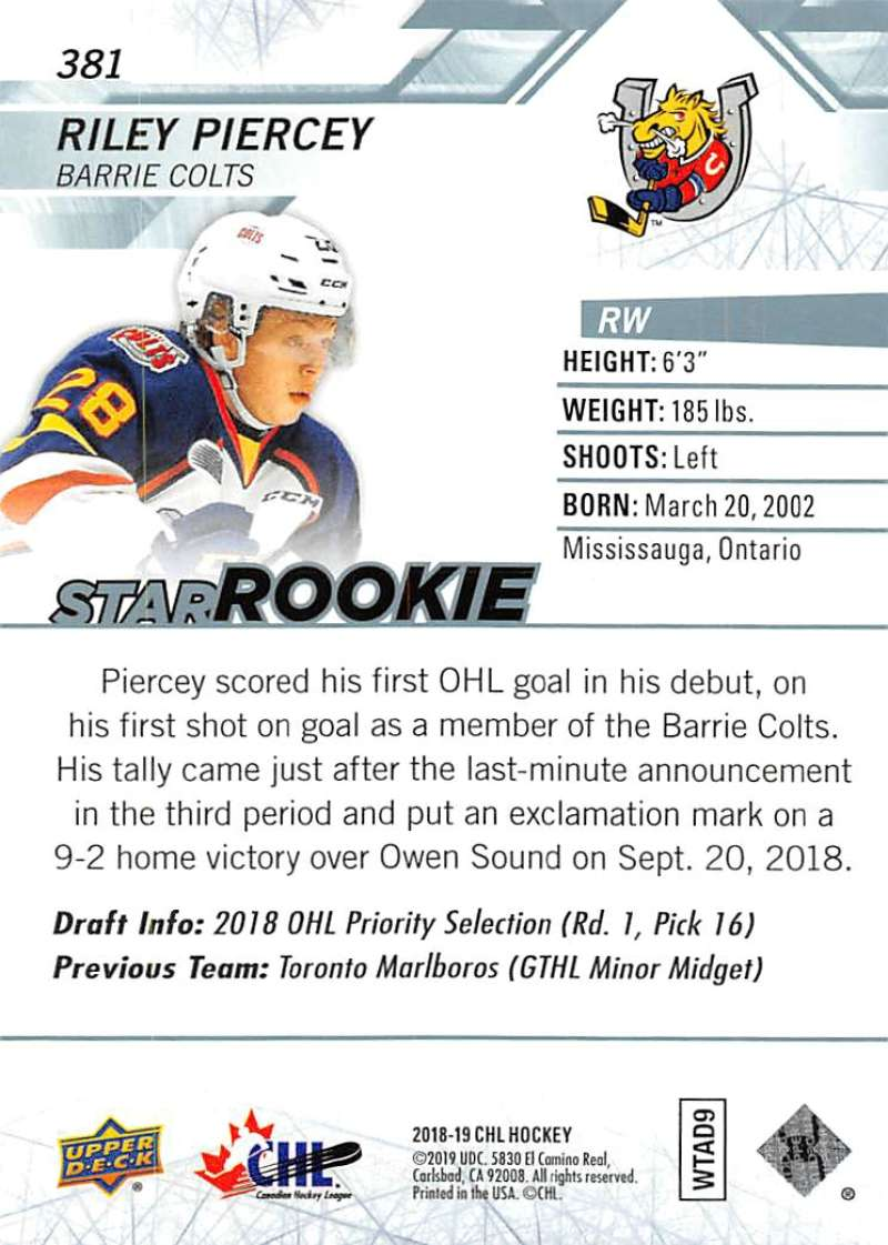 2018-19-Upper-Deck-CHL-Hockey-Cards-Pick-From-List-Base-and-Short-Prints-201-400 miniature 331