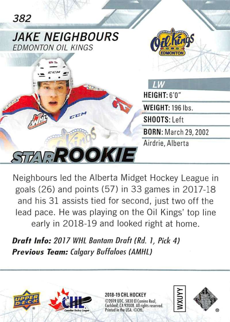 2018-19-Upper-Deck-CHL-Hockey-Cards-Pick-From-List-Base-and-Short-Prints-201-400 miniature 333