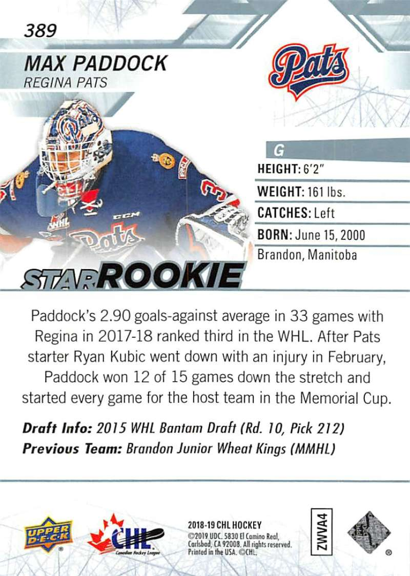 2018-19-Upper-Deck-CHL-Hockey-Cards-Pick-From-List-Base-and-Short-Prints-201-400 miniature 347