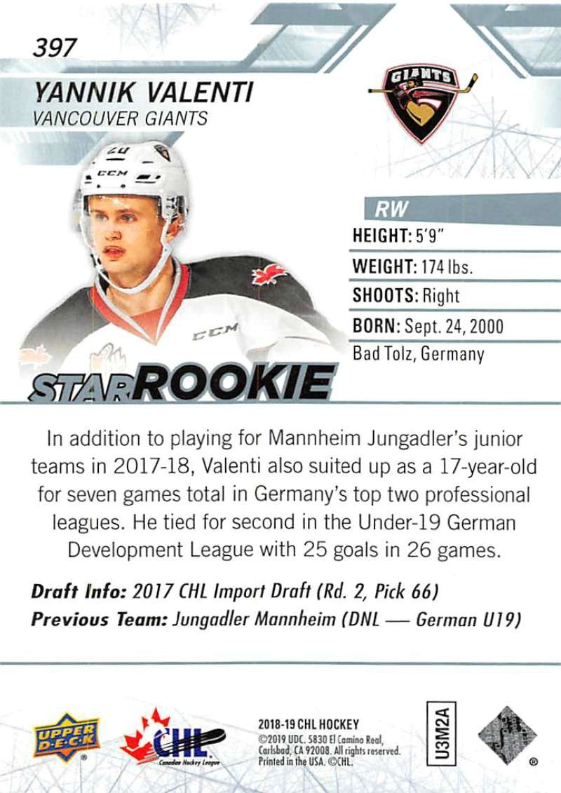 2018-19-Upper-Deck-CHL-Hockey-Cards-Pick-From-List-Base-and-Short-Prints-201-400 miniature 363