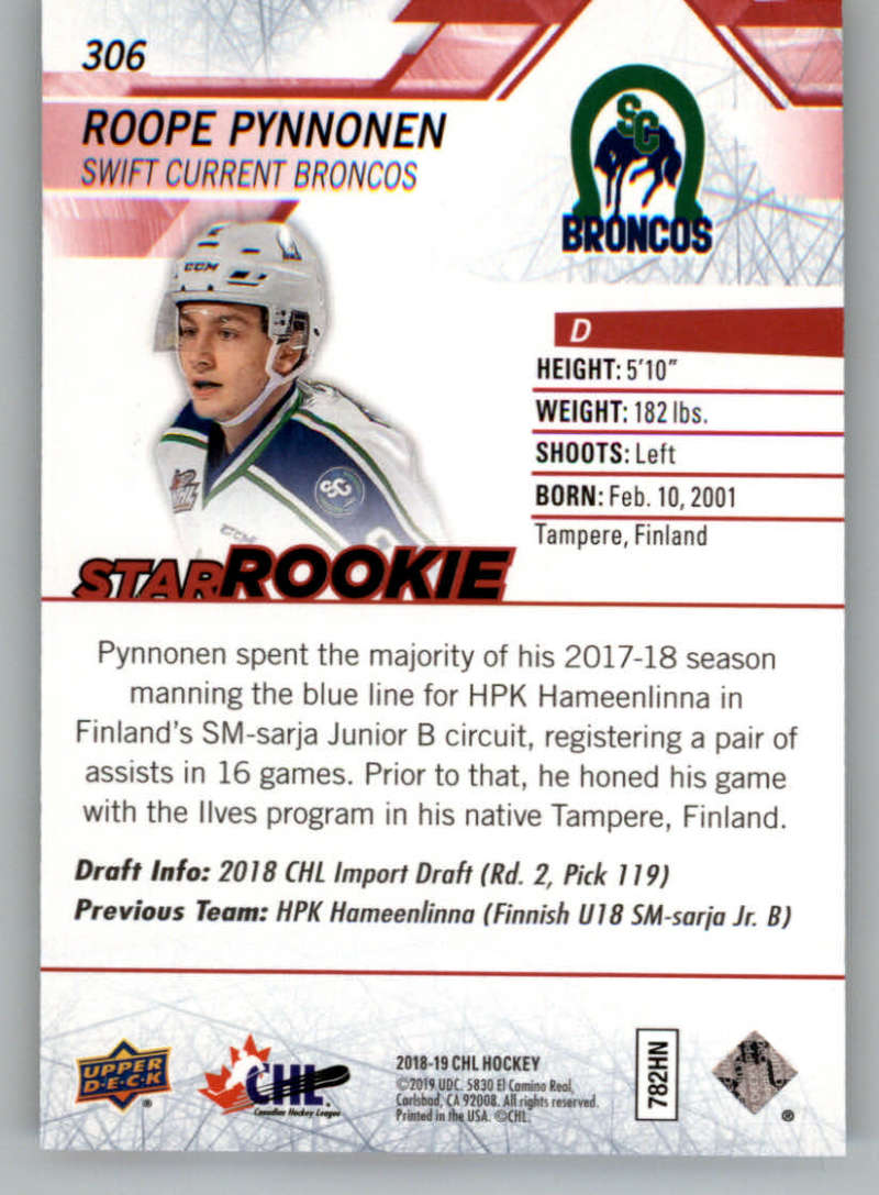 2018-19-Upper-Deck-CHL-Exclusives-Or-High-Gloss-Pick-From-List miniature 3