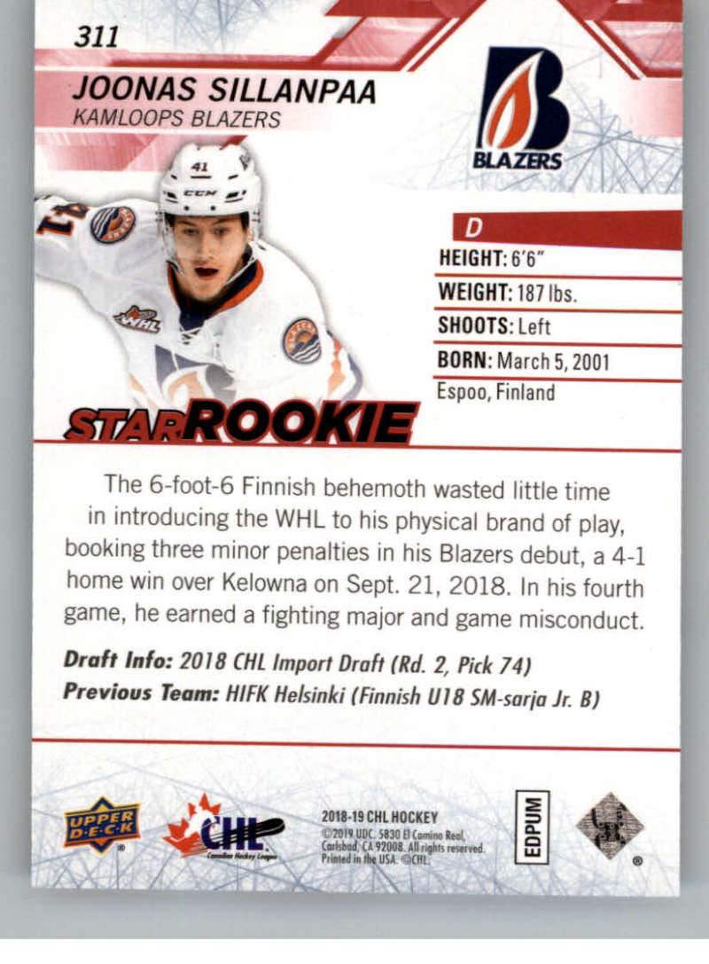 2018-19-Upper-Deck-CHL-Exclusives-Or-High-Gloss-Pick-From-List miniature 5
