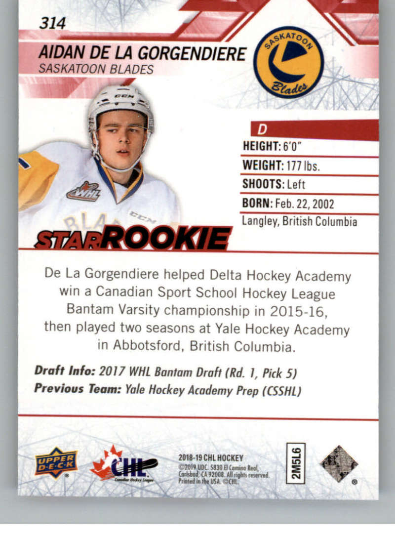 2018-19-Upper-Deck-CHL-Exclusives-Or-High-Gloss-Pick-From-List miniature 7