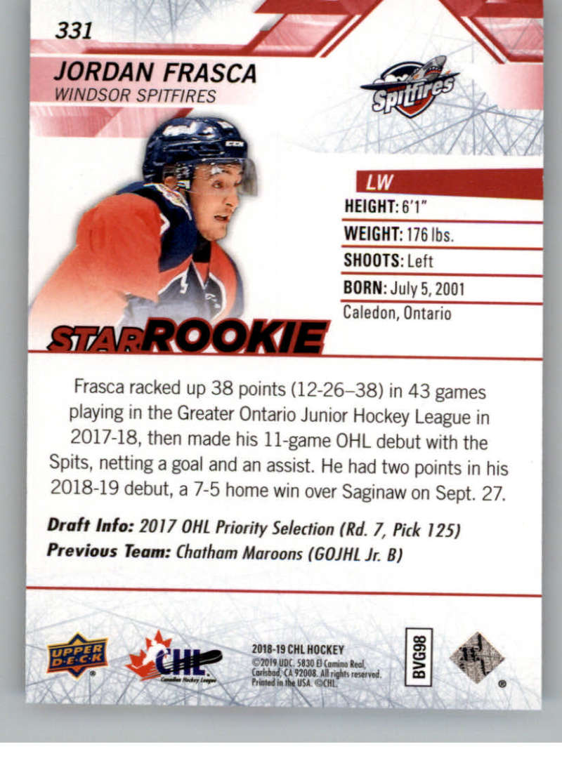 2018-19-Upper-Deck-CHL-Exclusives-Or-High-Gloss-Pick-From-List miniature 11