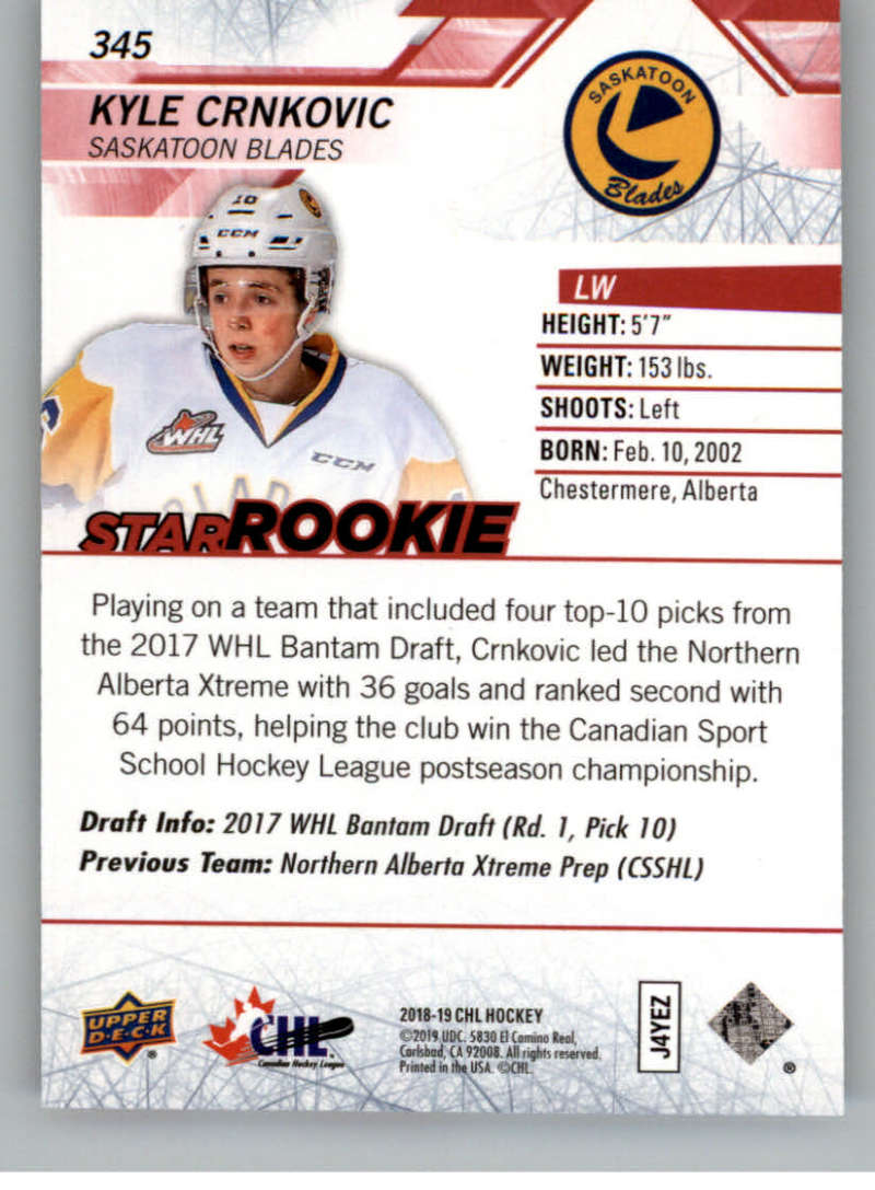 2018-19-Upper-Deck-CHL-Exclusives-Or-High-Gloss-Pick-From-List miniature 15