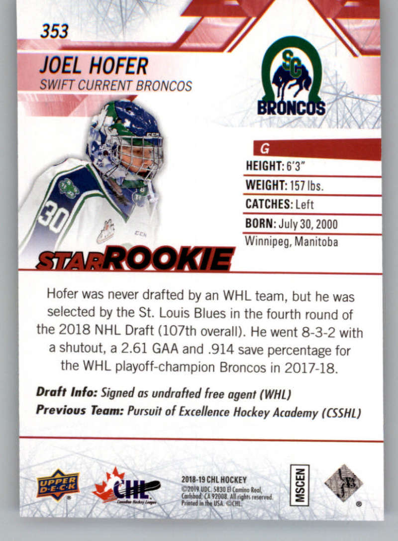 2018-19-Upper-Deck-CHL-Exclusives-Or-High-Gloss-Pick-From-List miniature 17
