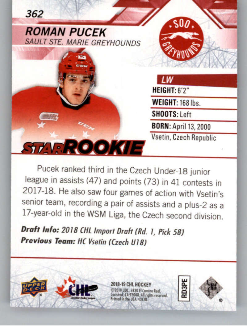 2018-19-Upper-Deck-CHL-Exclusives-Or-High-Gloss-Pick-From-List miniature 19