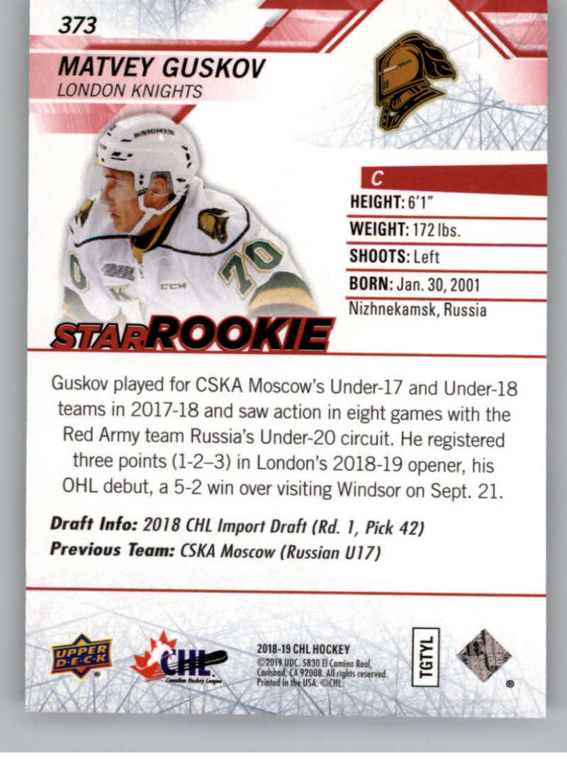 2018-19-Upper-Deck-CHL-Exclusives-Or-High-Gloss-Pick-From-List miniature 23