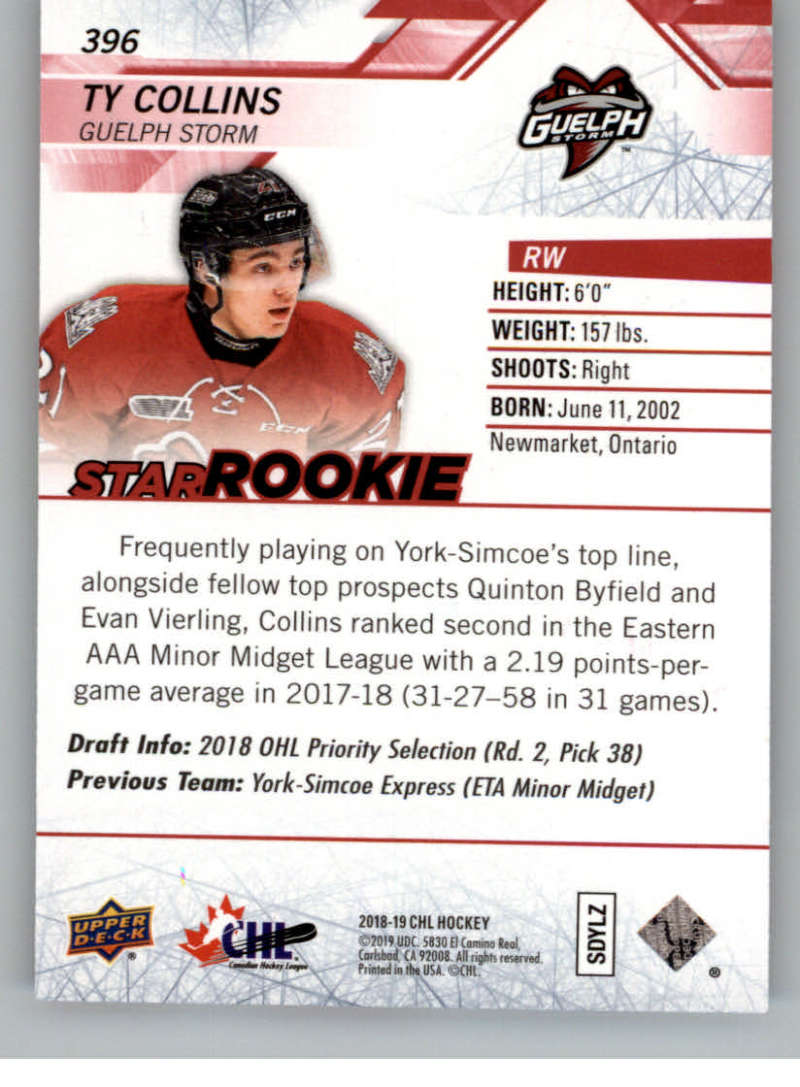 2018-19-Upper-Deck-CHL-Exclusives-Or-High-Gloss-Pick-From-List miniature 31