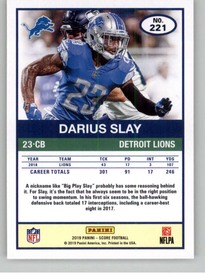 2019-Score-Gold-Football-Parallel-Cards-Pick-From-List-221-440-With-Rookies thumbnail 3