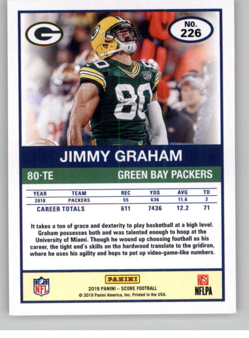 2019-Score-Gold-Football-Parallel-Cards-Pick-From-List-221-440-With-Rookies thumbnail 5