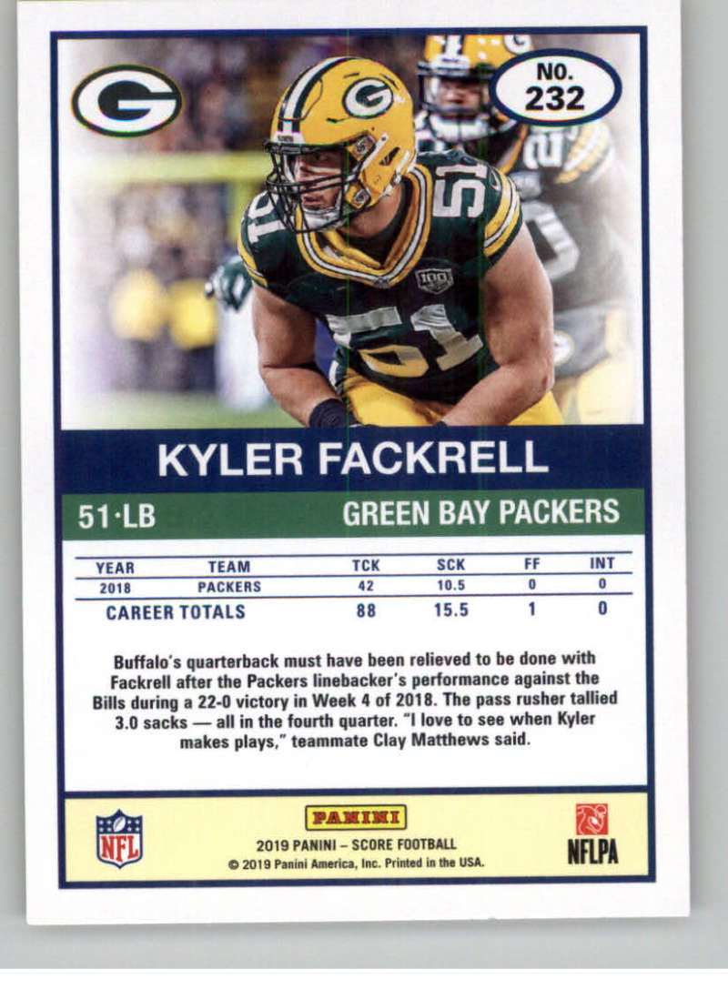 2019-Score-Gold-Football-Parallel-Cards-Pick-From-List-221-440-With-Rookies thumbnail 7