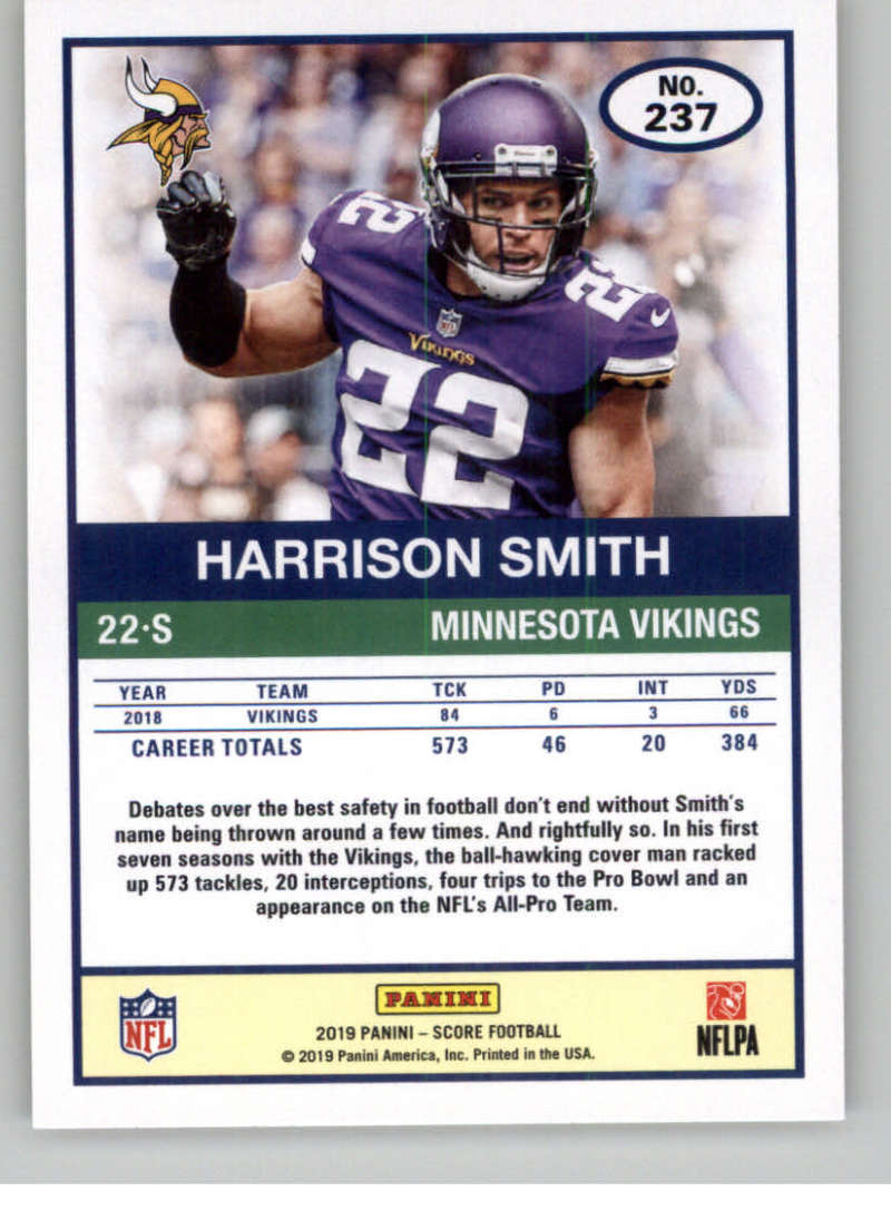 2019-Score-Gold-Football-Parallel-Cards-Pick-From-List-221-440-With-Rookies thumbnail 9