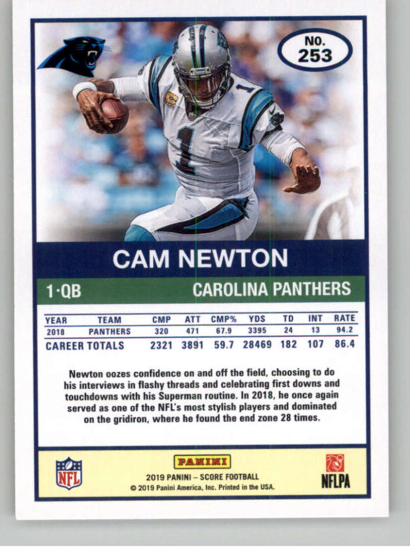 2019-Score-Gold-Football-Parallel-Cards-Pick-From-List-221-440-With-Rookies thumbnail 17