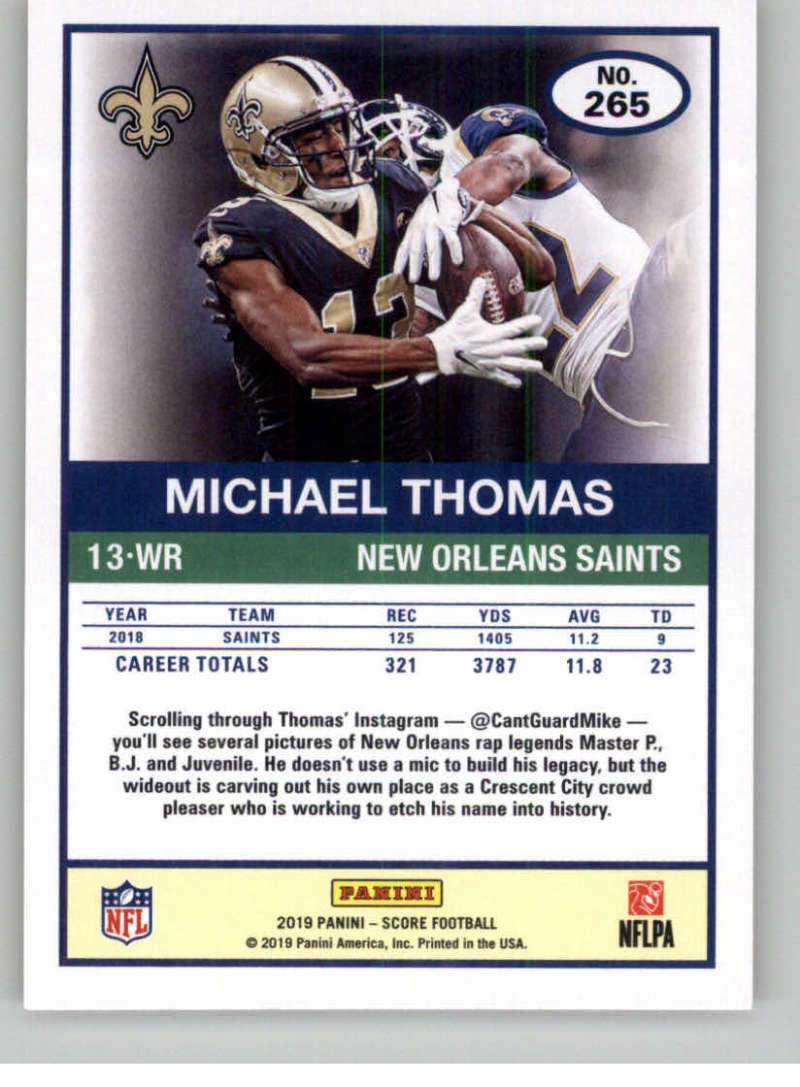 2019-Score-Gold-Football-Parallel-Cards-Pick-From-List-221-440-With-Rookies thumbnail 21