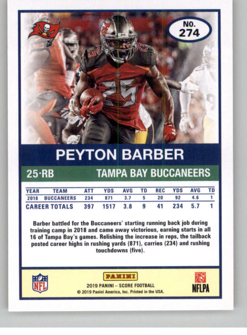 2019-Score-Gold-Football-Parallel-Cards-Pick-From-List-221-440-With-Rookies thumbnail 25