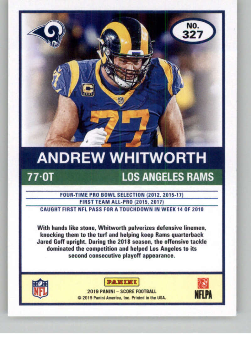 2019-Score-Gold-Football-Parallel-Cards-Pick-From-List-221-440-With-Rookies thumbnail 37