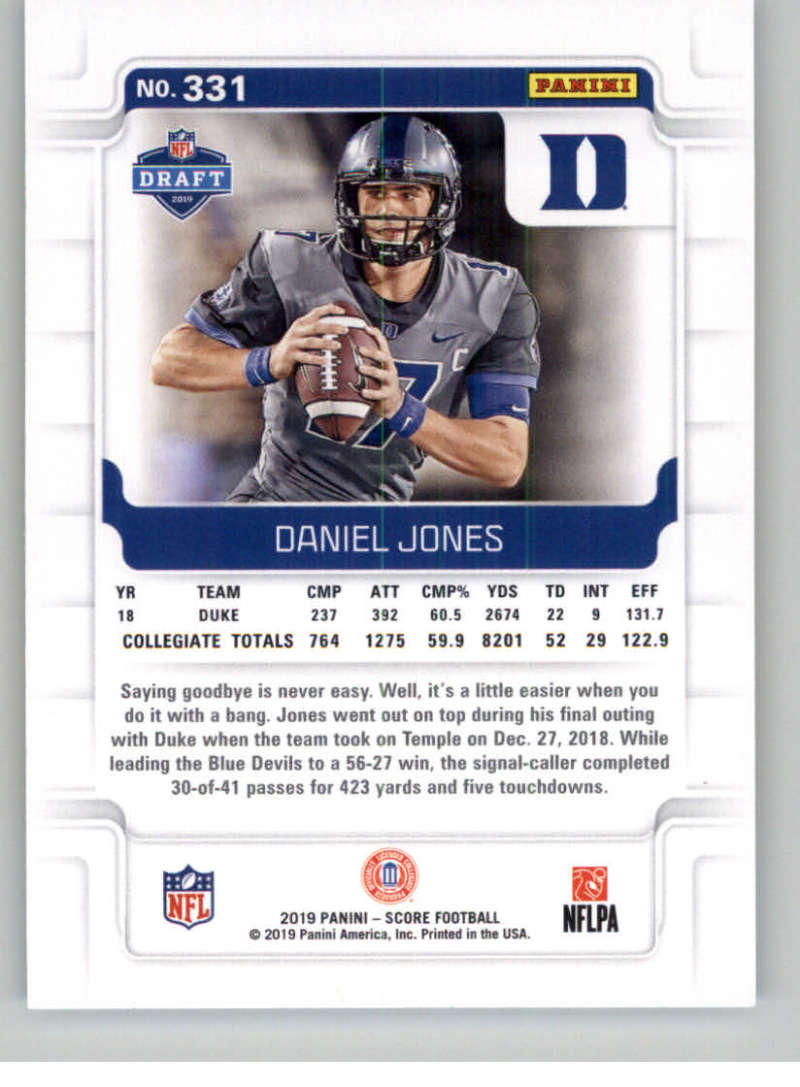2019-Score-Gold-Football-Parallel-Cards-Pick-From-List-221-440-With-Rookies thumbnail 39