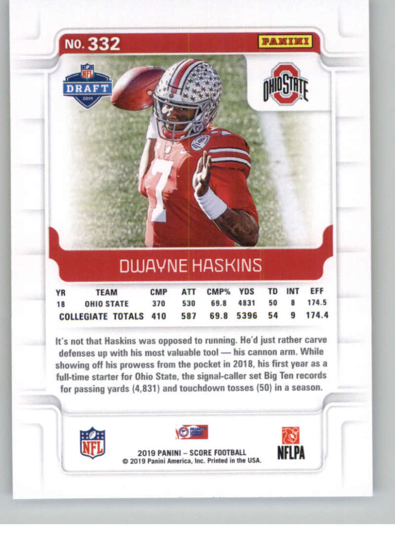 2019-Score-Gold-Football-Parallel-Cards-Pick-From-List-221-440-With-Rookies thumbnail 41