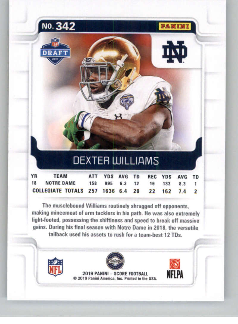 2019-Score-Gold-Football-Parallel-Cards-Pick-From-List-221-440-With-Rookies thumbnail 47
