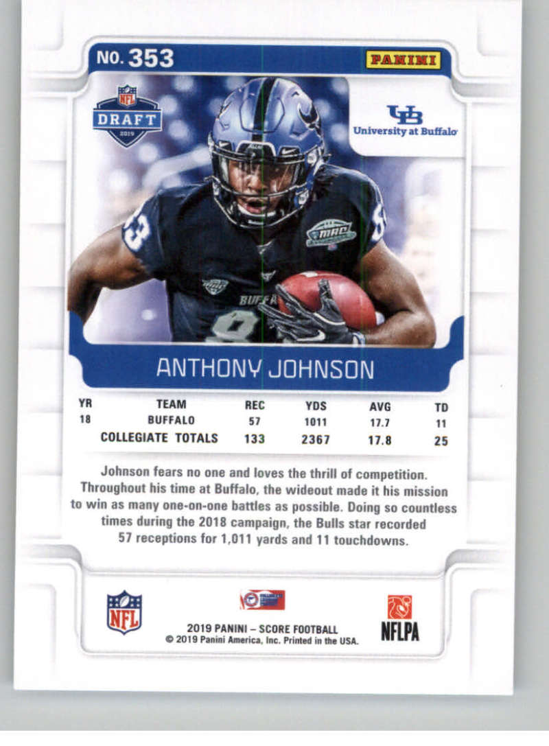 2019-Score-Gold-Football-Parallel-Cards-Pick-From-List-221-440-With-Rookies thumbnail 55