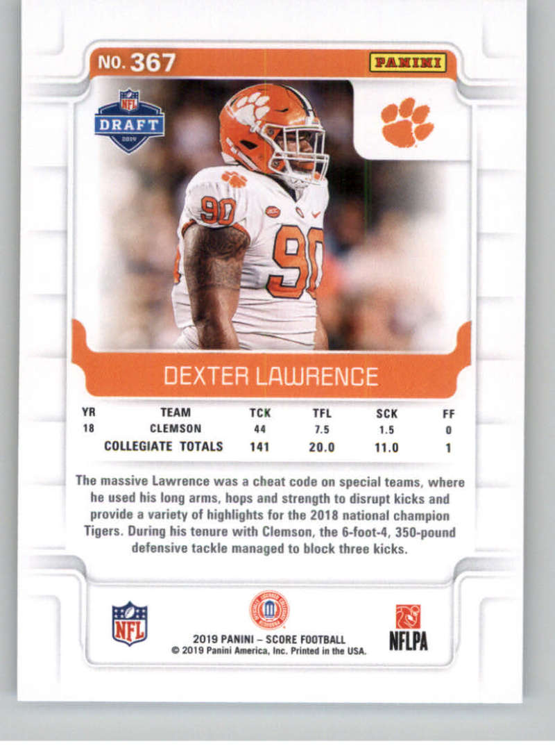 2019-Score-Gold-Football-Parallel-Cards-Pick-From-List-221-440-With-Rookies thumbnail 65