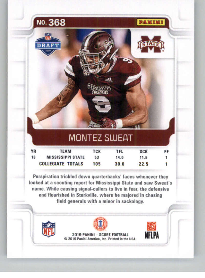 2019-Score-Gold-Football-Parallel-Cards-Pick-From-List-221-440-With-Rookies thumbnail 67