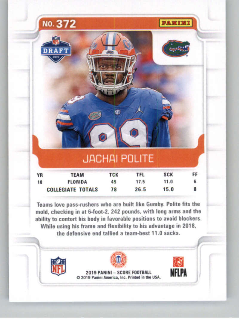 2019-Score-Gold-Football-Parallel-Cards-Pick-From-List-221-440-With-Rookies thumbnail 69