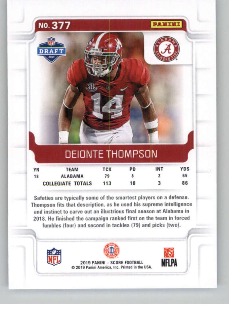 2019-Score-Gold-Football-Parallel-Cards-Pick-From-List-221-440-With-Rookies thumbnail 71
