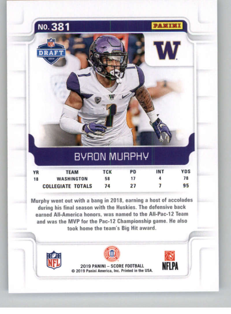 2019-Score-Gold-Football-Parallel-Cards-Pick-From-List-221-440-With-Rookies thumbnail 75
