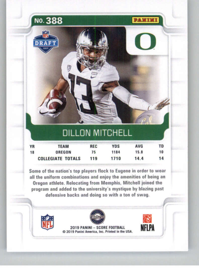 2019-Score-Gold-Football-Parallel-Cards-Pick-From-List-221-440-With-Rookies thumbnail 81