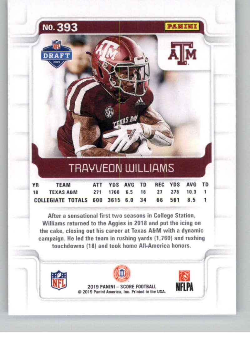 2019-Score-Gold-Football-Parallel-Cards-Pick-From-List-221-440-With-Rookies thumbnail 83