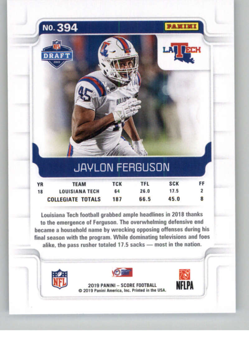 2019-Score-Gold-Football-Parallel-Cards-Pick-From-List-221-440-With-Rookies thumbnail 85