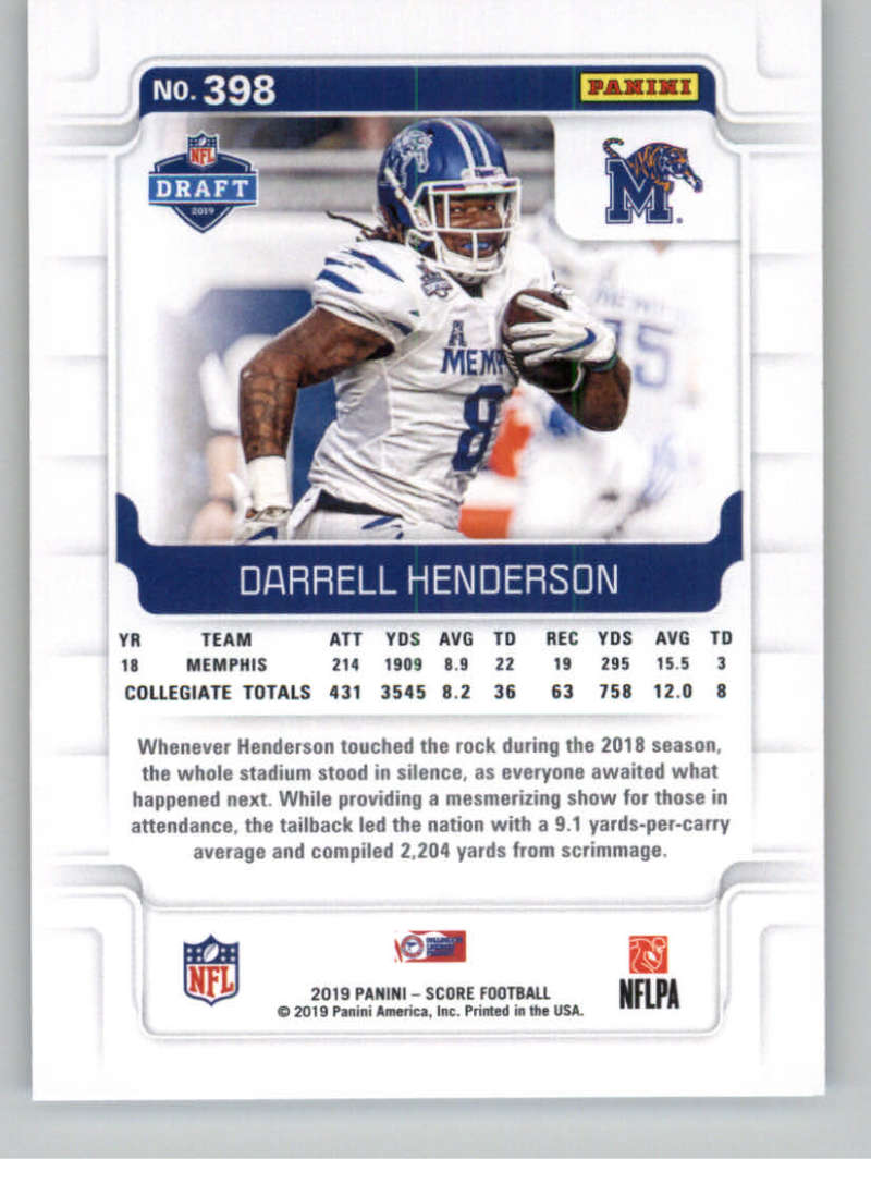 2019-Score-Gold-Football-Parallel-Cards-Pick-From-List-221-440-With-Rookies thumbnail 87
