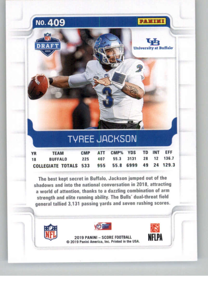 2019-Score-Gold-Football-Parallel-Cards-Pick-From-List-221-440-With-Rookies thumbnail 93
