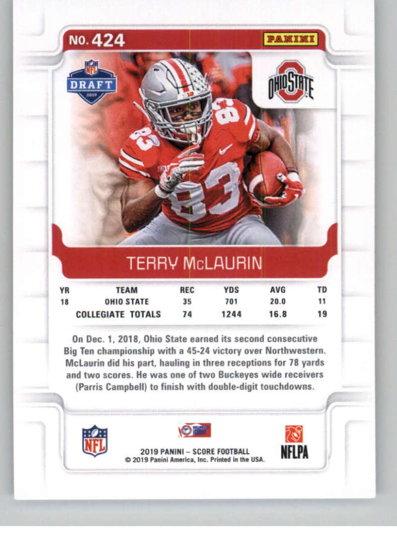 2019-Score-Gold-Football-Parallel-Cards-Pick-From-List-221-440-With-Rookies thumbnail 103