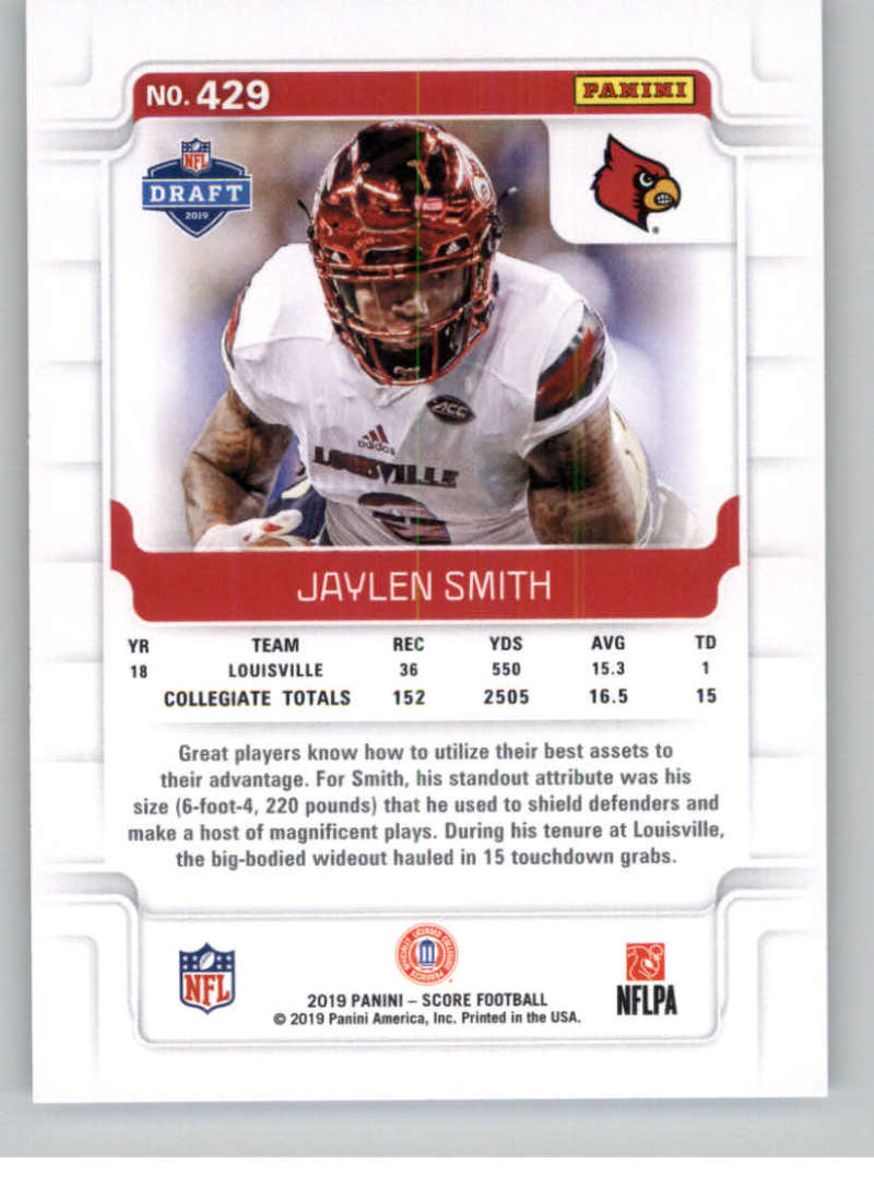2019-Score-Gold-Football-Parallel-Cards-Pick-From-List-221-440-With-Rookies thumbnail 105