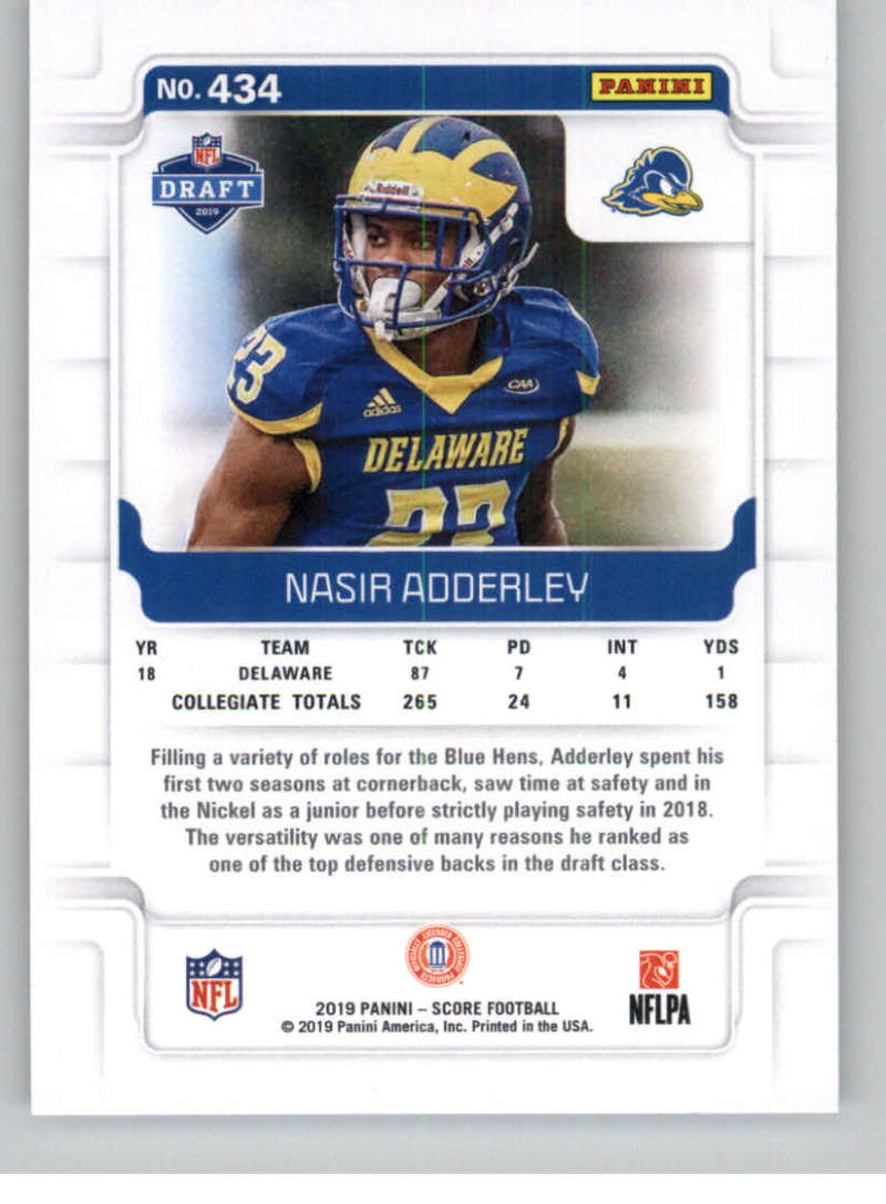 2019-Score-Gold-Football-Parallel-Cards-Pick-From-List-221-440-With-Rookies thumbnail 107