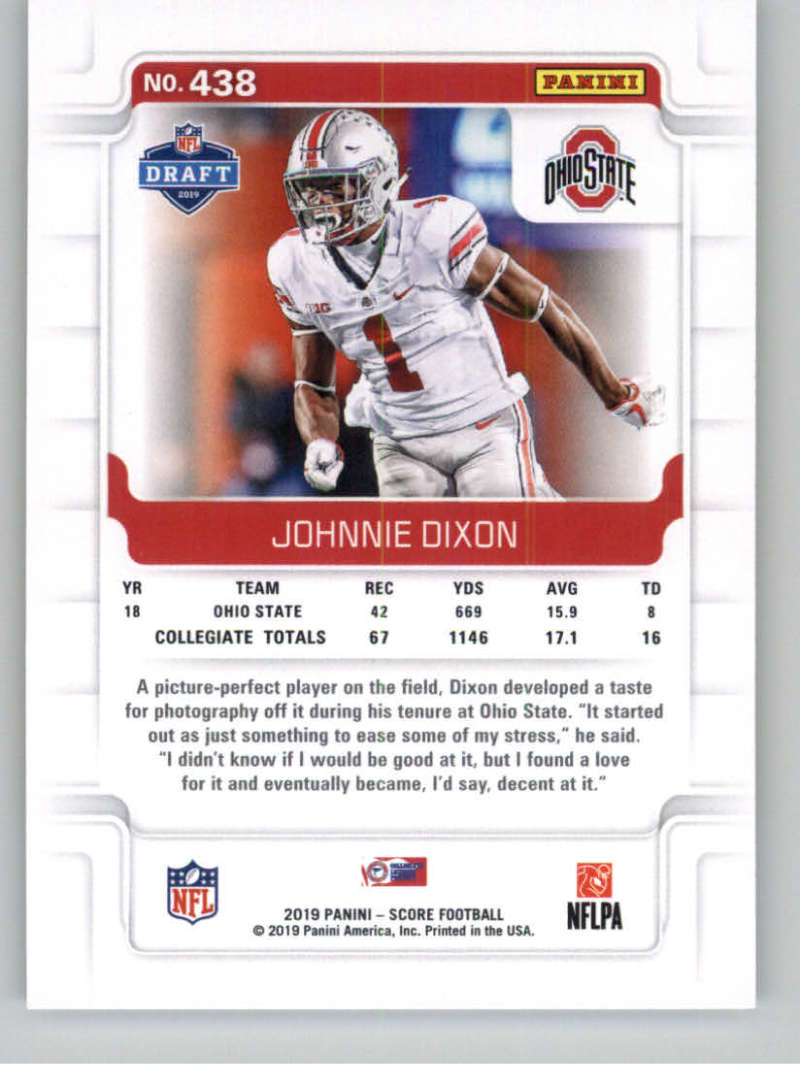 2019-Score-Gold-Football-Parallel-Cards-Pick-From-List-221-440-With-Rookies thumbnail 109