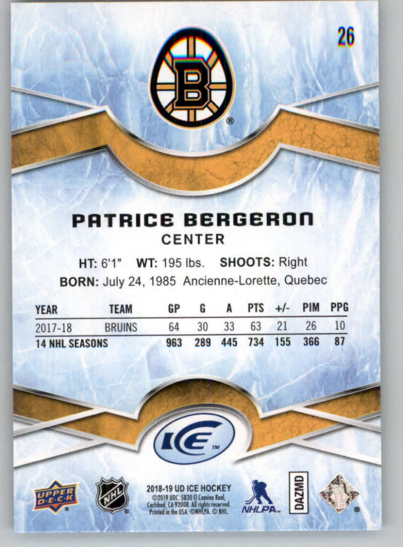 2018-19-Upper-Deck-Ice-Base-Rookies-or-Green-Cards-Pick-From-List thumbnail 49