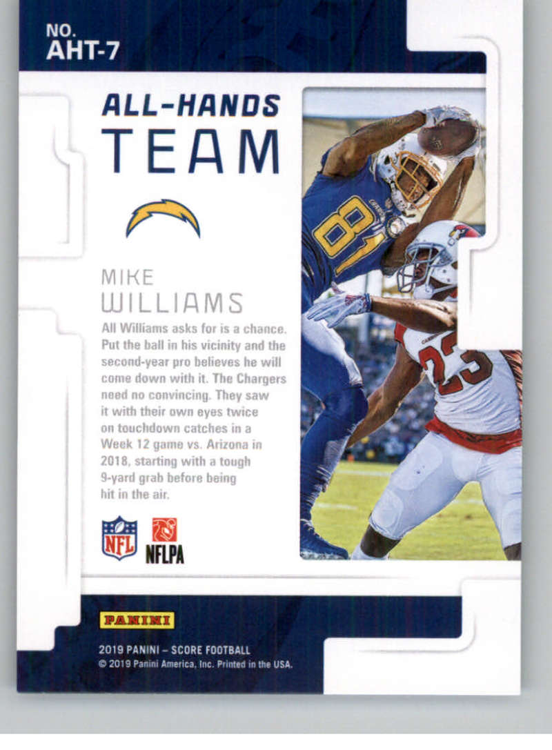 2019-Score-Purple-NFL-Football-INSERT-CARDS-Pick-From-List-All-Sets-Included thumbnail 13