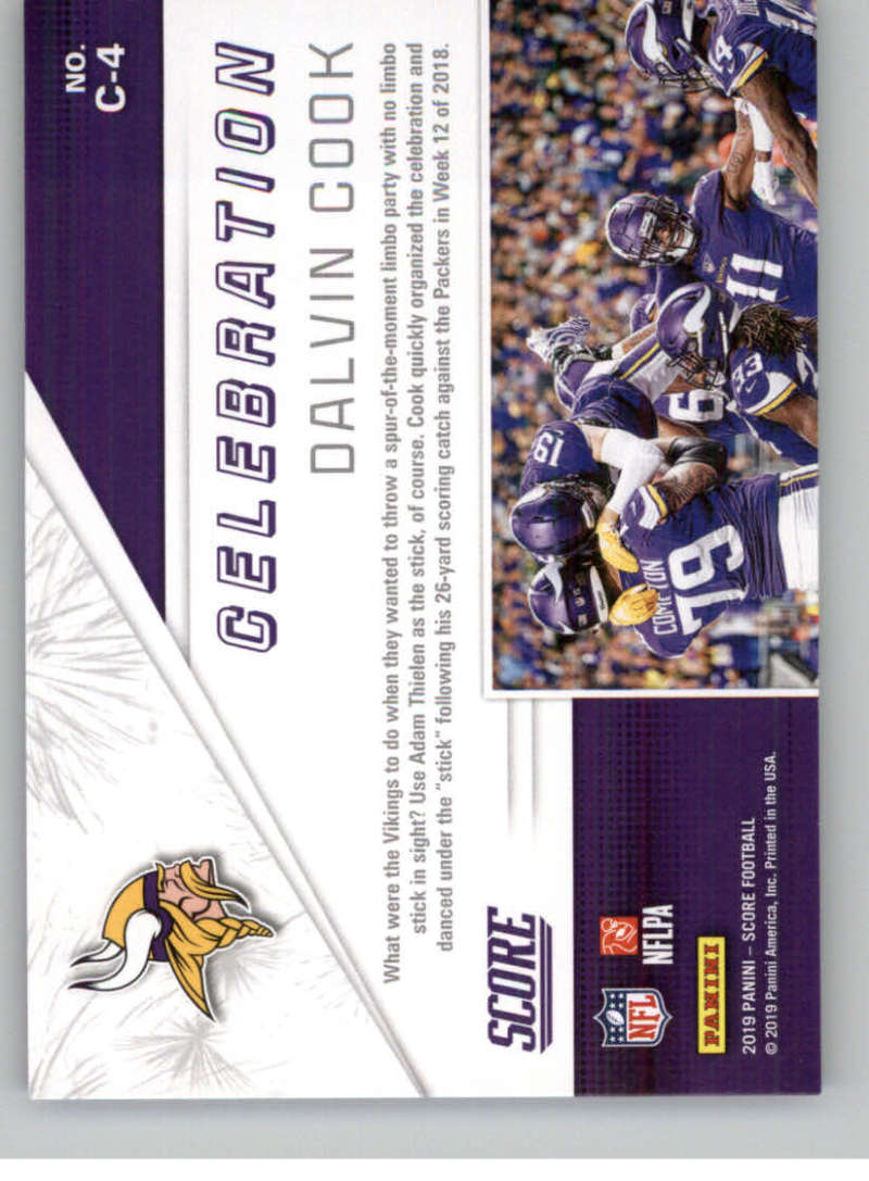 2019-Score-Purple-NFL-Football-INSERT-CARDS-Pick-From-List-All-Sets-Included thumbnail 45